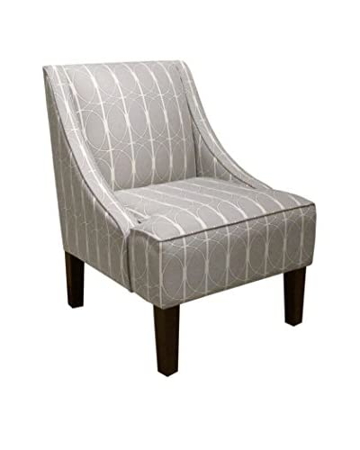 Skyline Furniture Swoop Arm Chair, Menton Linen