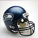 NFL Seattle Seahawks Deluxe Replica Football Helmet at Amazon.com