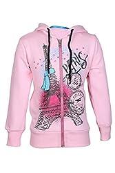 Cool Quotient Girl's Sweatshirts [CQGW15I109_Pink_3-4 Years]