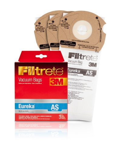 Filtrete Eureka AS Micro Allergen Vacuum Bag, 3 Pack (Filtrete Vacuum Bags compare prices)
