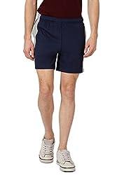 Ajile by Pantaloons Men's Shorts (301177620_Navy_X-Large)
