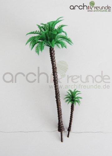 4 x Modell Baum - Palmen, für Landschaft Modellbau und Modelleisenbahn