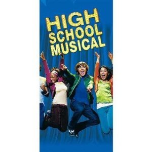 High School Musical Plastic Tablecover - 1