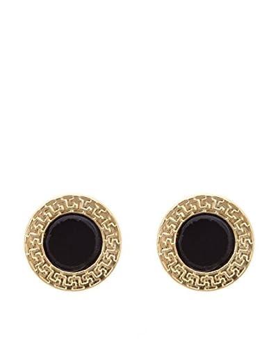 Gold & Diamond Pendientes Noir