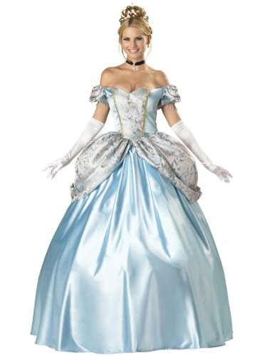 Enchanting Princess Costume Ball Gown Victorian Dress Storybook Fairytale Couple