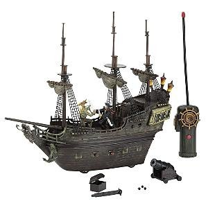 Pirates of the Caribbean: At World's End Black Pearl Remote Control Pirate Ship - Buy Pirates of the Caribbean: At World's End Black Pearl Remote Control Pirate Ship - Purchase Pirates of the Caribbean: At World's End Black Pearl Remote Control Pirate Ship (Disney, Toys & Games,Categories,Play Vehicles,Radio & Remote Control)