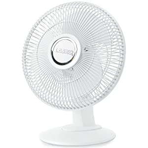 "Lasko 3-Speed 12"" Table Fan - White"