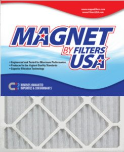 20x23x1 (Actual Size) Magnet by FiltersUSA 1-Inch Filter (MERV 11) 4 filter pack - One Years Supply