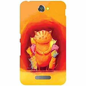 Sony Xperia E4 Printed Mobile Back Cover