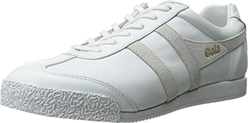 Gola Men's Harrier Mono Fashion Sneaker, White, 10 M US