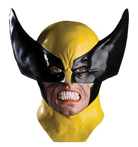 Rubie's Costume Men's Marvel Universe Adult Wolverine Latex Mask