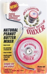 Natural Peanut Butter Mixer