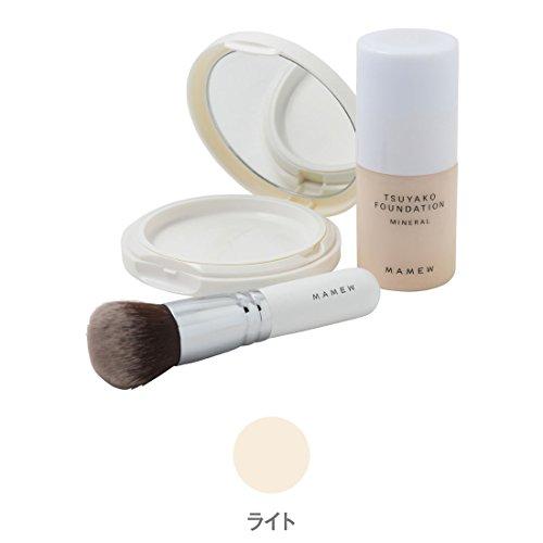 MAMEW 艶粉ファンデーション セット 01
