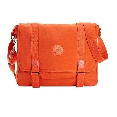 Amazon.com: Kipling Aleron Messenger Bag TM5162 728 Luminous Orange