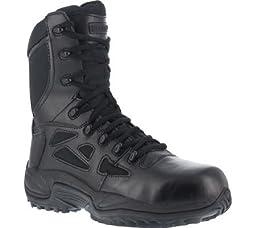 RB8875 Reebok Men\'s Stealth Uniform Boots - Black - 12.0\\W