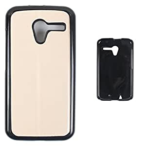 DooDa - For Gionee Ctrl V6L Snap-on Hard PU Leather & TPU Plastic Shoulders Case Cover, Fancy Fashion Designer With Full Protection Of Pouch