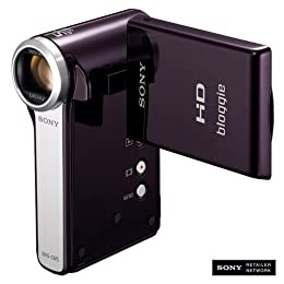 Sony MHS-CM5 bloggie HD Video Camera Violet NEWEST MODEL