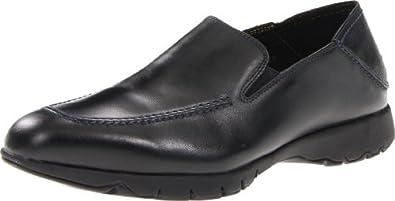 暇步士Hush Puppies Five-Base Slip-On 男士减震V底 真皮休闲商务鞋4色$84.59
