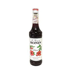 MONIN Hibiscus Syrup 70cl Bottle