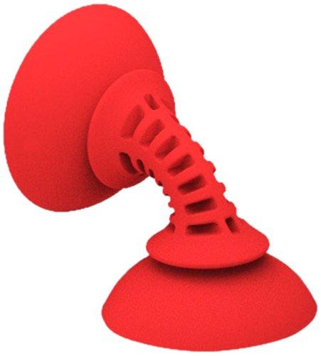 Striker Simple Suker Doppia Ventosa ad Alta Resistenza per Smartphone, Rossa