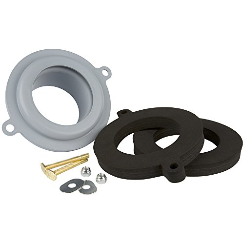 Seal Tight Waxless Toilet Gasket Kit - UNIVERSAL FIT any Toilet (Sani Seal Gasket compare prices)