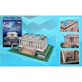 Lincoln Memorial 3D Puzzle 42 Pieces