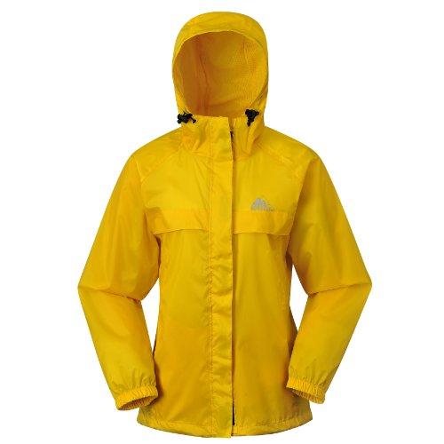 Cox Swain 2-Lagen Damen Outdoor Funktions Regenjacke - 3.000mm Wassersäule -3.000mm Atmungsaktivität, Farbe: Navy, Größe: L -