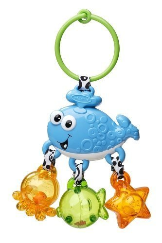 Infantino Link and Jingle Activity Rattle - Whale - 1
