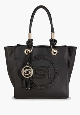 bebe Tribal Tote Handbags Blk-1sz: Handbags: Amazon.com