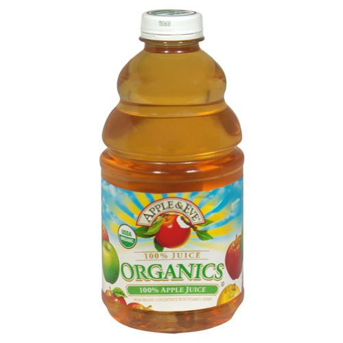 Apple And Eve Organic Apple Juice, 48 Ounce -- 8 Per Case. front-731281