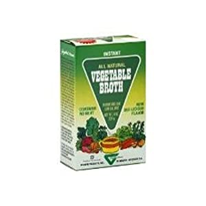 Gaylord Hauser Vegetable Broth, 4-Ounce (Pack of 4)