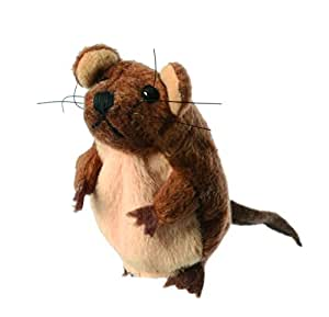 The Puppet Company - Finger Puppets - Brown Mouse