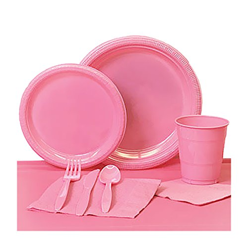 Shindigz Valentines Day Decorations Candy Pink Plastic Party Pack