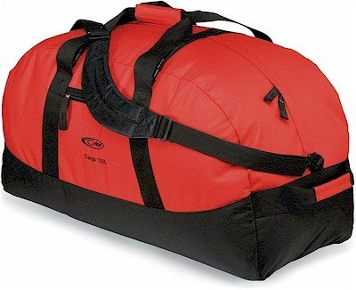 Gelert Cargo 100 Litre Duffle Bag - Red/Black by Gelert