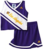 41Tw44I3B2L. SL160  NBA Toddler Los Angeles Lakers 2 Piece Cheerleader Set   R248Tqla (Regal Purple, 2T)