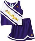 Adidas NBA Los Angeles Lakers Toddler Cheerleader 2 Piece Set