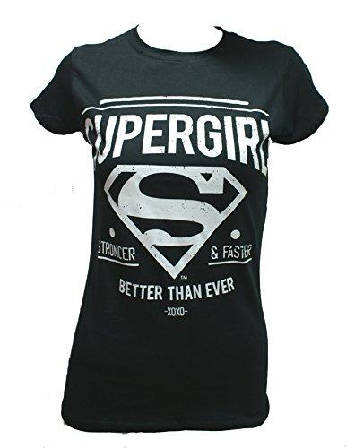 DC Comics -  T-shirt - Donna Black, White Small