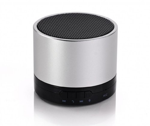 Blue Melody Best Potable Mini Top Rated Stereo Travel Wireless Bluetooth Speaker For Apple Iphone Ipad Ipod Samsung Motorola Philips Mp3 Player Mobile Phones Laptop Sd Card Bl-788F Silver