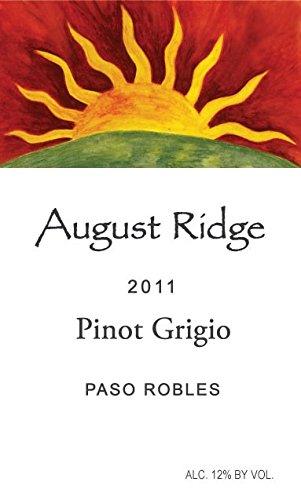 2013 August Ridge Pinot Grigio 750 Ml