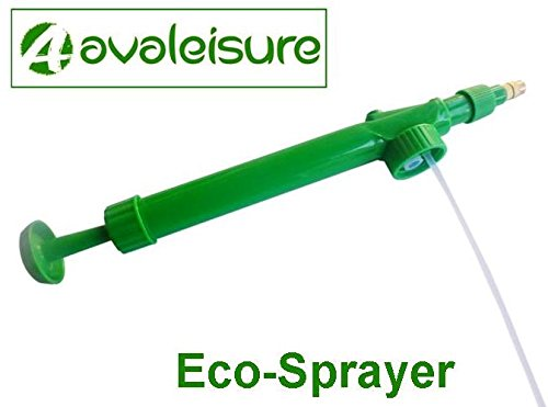 Pressure Sprayer - The Multi-Purpose Eco-Sprayer by AVALEISURE - Fits onto empty Soda/Soft-Drink Bottles - Powerful & Reliable Hand Pump Mister/Sprayer For ALL Your Indoor & Garden Spraying Jobs (Hand Pump Pressure Sprayer compare prices)