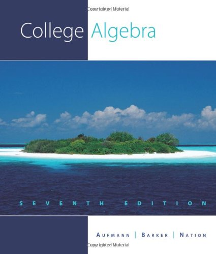 College algebra online