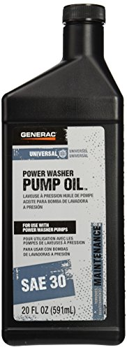 Generac 6656 Pressure Washer Pump Oil SAE 30, 20-Ounce (Generac Power Washer Pump compare prices)