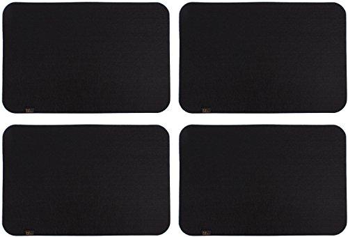 Edle-Filz-Platzmatten-fr-4-Personen-in-schwarz-weitere-Farben-XXL-Tischset-ca-30x45cm-gro-und-waschbar-Moderne-Designer-Filz-Tischmatten-bzw-Tischunterlagen-als-tolles-Platzset-fr-Ihr-Esszimmer