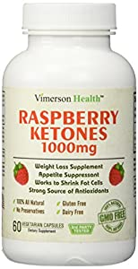 Weight Loss Supplement Raspberry Ketones 1000mg Non-gmo 100 All Natural Gluten Free Pure Premium And Effective Appetite Suppressant Metabolism Booster Fat Burner Carb Blocker Diet Pills That Work Fast For Women And Men - Best Brand Super Blend Maximum Los