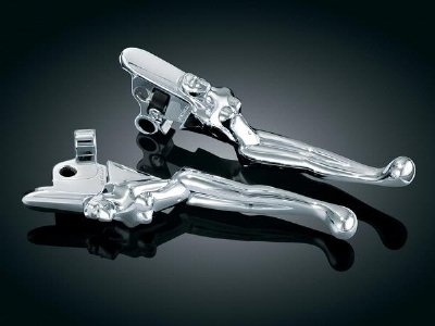 Image of Silhouette Levers for '08-'09 Touring (B004JQWRGQ)