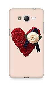 Amez designer printed 3d premium high quality back case cover for Samsung Galaxy Grand Prime (Cute Heart)
