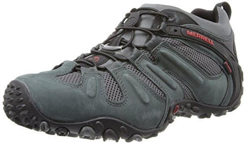 Merrell Men's Chameleon Prime Stretch Waterproof Hiking Shoe,Granite,10 M US
