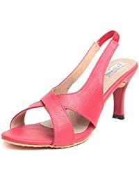 Feel It Comfortable Leatherite Casual/Formal/Partywear Block Heel Footwear For Women & Girls - 5754-black-P (Black)