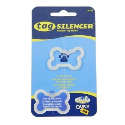 Pet Tag Silencer - Small Bone
