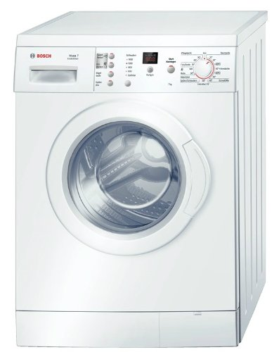 Bosch WAE283ECO Waschmaschine FL / A+++ / 165 kWh/Jahr / 1400 UpM / 7 kg / 10686 Liter/Jahr / ActiveWater spart Wasser und Kosten dank sensorgesteuerter, mehrstufiger Mengenautomatik / weiß